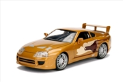 Fast & Furious - 1995 Toyota Supra 1:24 Scale Hollywood Ride | Merchandise