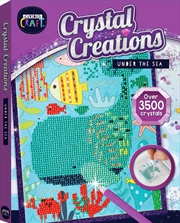 Curious Craft: Crystal Creations Canvas Under the Sea | Colouring Book