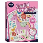 Curious Craft: Crystal Creations Canvas Magical Unicorn | Colouring Book