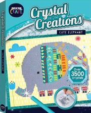 Cute Elephant Curious Craft | Colouring Book