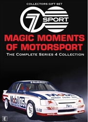 Magic Moments Of Motorsport - Series 4 | Collector's Gift Set | DVD