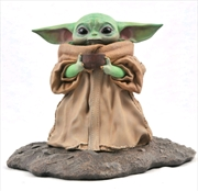 Star Wars: The Mandalorian - The Child with Soup Bowl 1:2 Scale Statue | Merchandise
