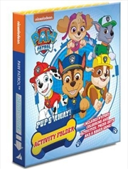 Paw Patrol Pup's Away! Activity Folder | Hardback Book