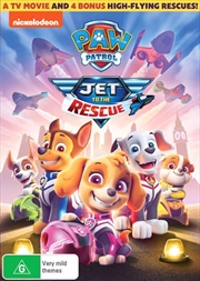 Paw Patrol - Jet To The Rescue | DVD