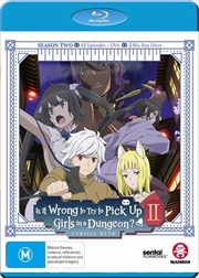 Is It Wrong To Try To Pick Up Girls In A Dungeon? - Season 2 | Blu-ray