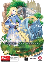 Sword Art Online - Alicization - Part 2 - Eps 14-24 | DVD