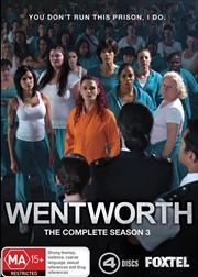 Wentworth - Season 3 | DVD