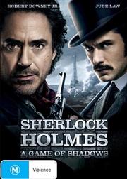 Sherlock Holmes - A Game Of Shadows | DVD