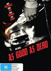 As Good As Dead   DVD