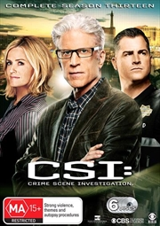 CSI - Crime Scene Investigation - Series 13 | Boxset | DVD
