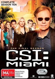 CSI - Miami - Season 10 | DVD