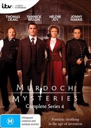 Murdoch Mysteries - Series 4 | DVD