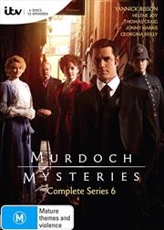 Murdoch Mysteries - Series 6 | DVD