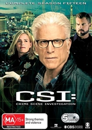 CSI - Crime Scene Investigation - Series 15 | DVD