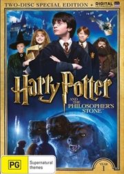 Harry Potter And The Philosopher's Stone - Limited Edition | UV - Year 1 | DVD