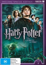 Harry Potter And The Goblet Of Fire - Limited Edition | UV - Year 4 | DVD