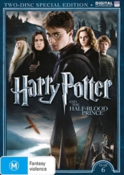 Harry Potter And The Half-Blood Prince - Limited Edition | UV - Year 6 | DVD