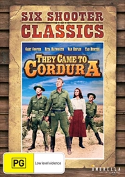 They Came To Cordura | DVD