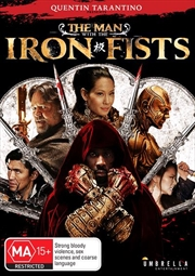Man With The Iron Fists, The | DVD