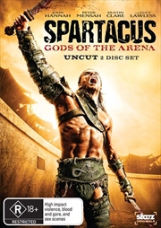 Spartacus - Gods Of The Arena | DVD
