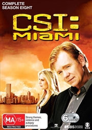 CSI - Miami - Season 8 | DVD