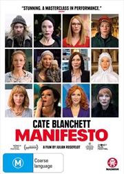 Manifesto | DVD