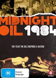 Midnight Oil 1984 | DVD