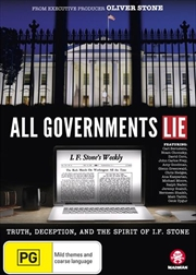 All Governments Lie | DVD