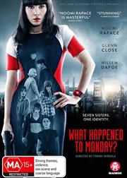 What Happened To Monday? | DVD