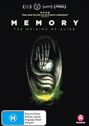 Memory - The Origins Of Alien | DVD
