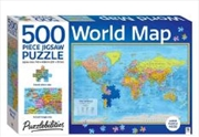 World Map Jigsaw Puzzle - 500 Piece | Merchandise