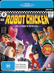 Robot Chicken - DC Comics Special | Blu-ray