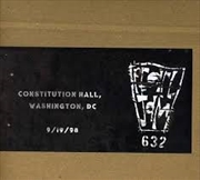 Official Bootleg: Constitution Hall Dc 9/19/98 | CD
