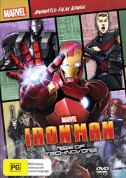 Iron Man - Rise Of Technovore | Marvel Feature Range | DVD