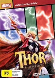 Thor - Tales Of Asgard | Marvel Feature Range | DVD