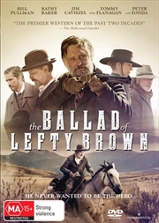 Ballad Of Lefty Brown, The | DVD