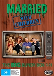 Married With Children - Season 1-11 | Complete Series | DVD