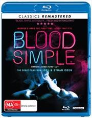 Blood Simple | Blu-ray