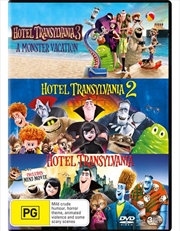 Hotel Transylvania / Hotel Transylvania 2 / Hotel Transylvania 3 - A Monster Vacation | Triple Pack | DVD