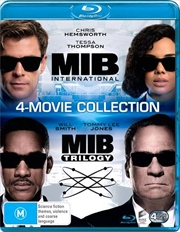 Men In Black / Men In Black II / Men In Black 3 / Men In Black - International | Franchise Pack | Blu-ray