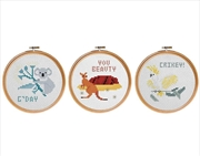 Cross Stitch Kit - Australian Collection (Sent At Random) | Merchandise