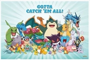 Pokemon All Time Favourites Poster | Merchandise