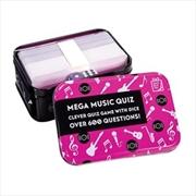 Mega Music Quiz | Merchandise