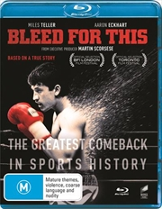 Bleed For This | Blu-ray