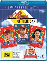 A League Of Their Own - 25th Anniversary Edition   Blu-ray