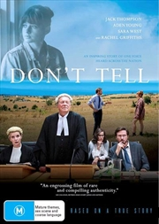 Don't Tell   DVD