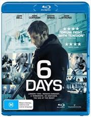 6 Days   Blu-ray