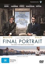 Final Portrait | DVD