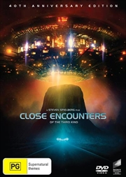 Close Encounters Of The Third Kind - 40th Anniversary Edition   DVD