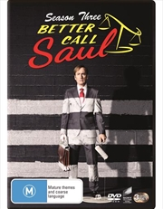 Better Call Saul - Season 3 | DVD